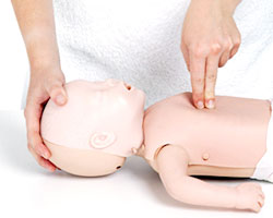 Reanimación cardiopulmonar en bebés y niños